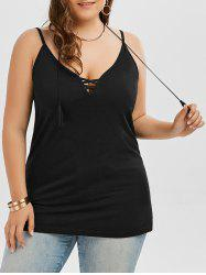 Criss Cross Plus Size Cami Top