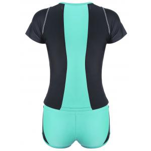 Ensemble Withini With Two Tone Sporty Padded - Vert 2XL