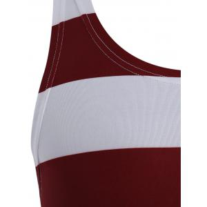 American Flag Patriotic Muscle Tank Top - COLORMIX M