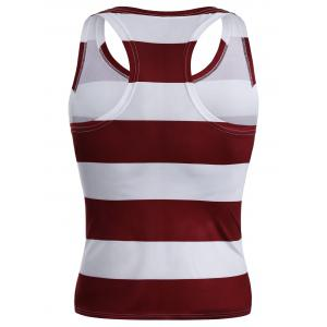 American Flag Patriotic Muscle Tank Top -