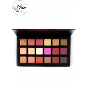 Halal 18 Colours Matte Shimmer Powder Eyeshadow Palette