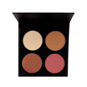 Halal 4 Colors Soft Mineral Highlighting Palette -