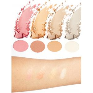 Halal 4 Colors Soft Mineral Highlighting Palette - COLORFUL