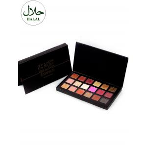 Halal 18 Colours Matte Shimmer Powder Eyeshadow Palette - COLORFUL