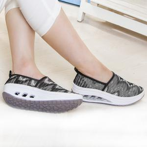 ... Print Slip On Sheer Sneakers ...
