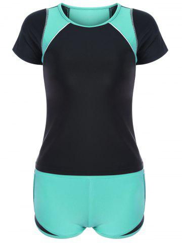 Ensemble Withini With Two Tone Sporty Padded Vert 2XL