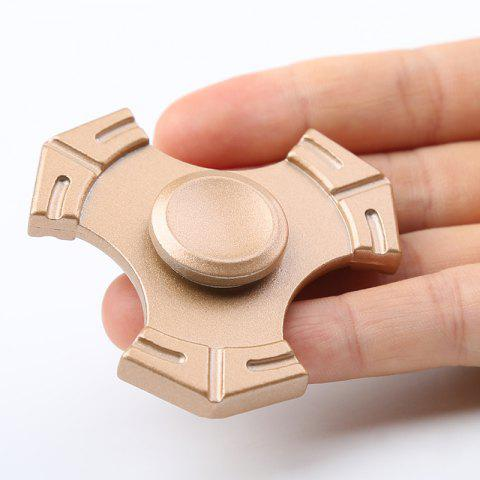 Unique Zinc Alloy Tri-bar Fidget Hand Spinner Focus Toy