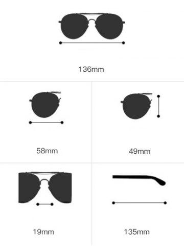 Affordable Shield Sunglasses with Metallic Long Crossbar - LIGHT BLUE  Mobile