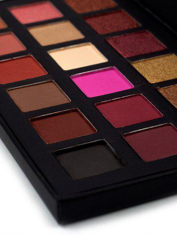 Fashion Halal 18 Colours Matte Shimmer Powder Eyeshadow Palette - COLORFUL  Mobile