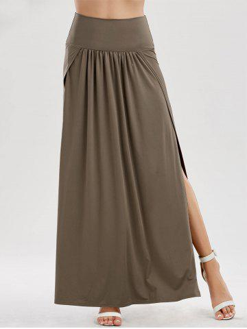 Sale Side Slit Longline Skirt