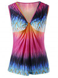 Colorful Knot Tank Top