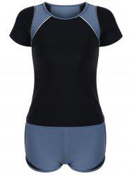 Ensemble Withini With Two Tone Sporty Padded - Gris M