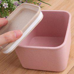 Wheat Straw Plastic Food Storage Seal Pot -