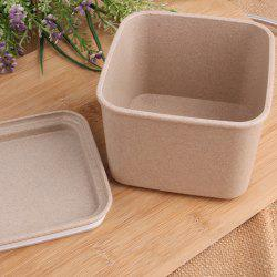 Wheat Straw Plastic Food Storage Seal Pot - BEIGE
