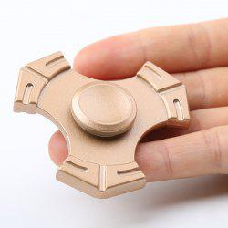 Zinc Alloy Tri-bar Fidget Hand Spinner Focus Toy -