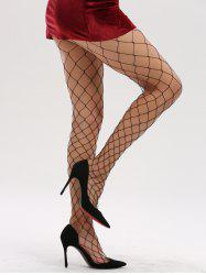 See Through Hollow Out Fishnet Tights -