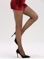 See Through Hollow Out Fishnet Tights