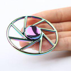 Wheel Shape Colorful Metal Fidget Spinner Anti-stress Toy