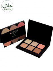 Halal 6 Colours Cream Concealer Palette