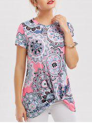 Floral Knotted T-Shirt