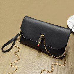 Lipstick Chain Cross Body Bag