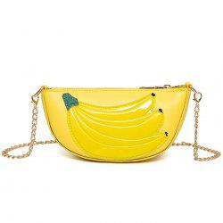 Chain Banana Crossbody Bag