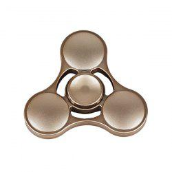 Jouet De Soulagement Du Stress En Plastique Cool Hand Fidget Spinner - Or