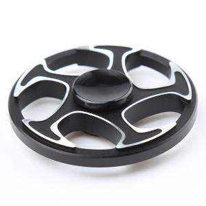 Fiddle Toy Wheel Aluminium Alloy Finger Gyro Hand Spinner -