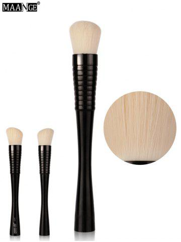 MAANGE Color Blocking Blush Brush - Full Black