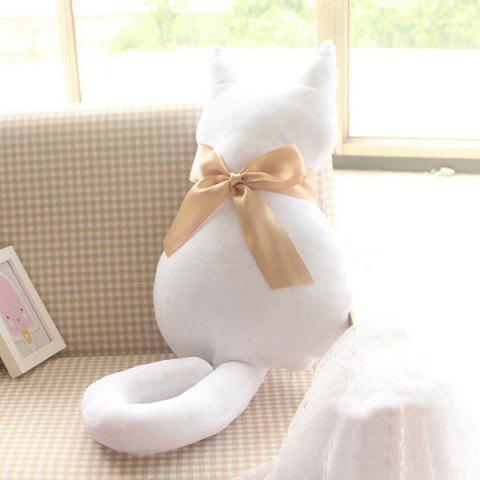 Bowknot Cat Doll Cartoon Cushion Pillow Stuffed Toy