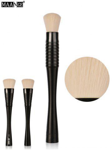 Shop MAANGE Multifunctional Foundation Brush - BLACK  Mobile