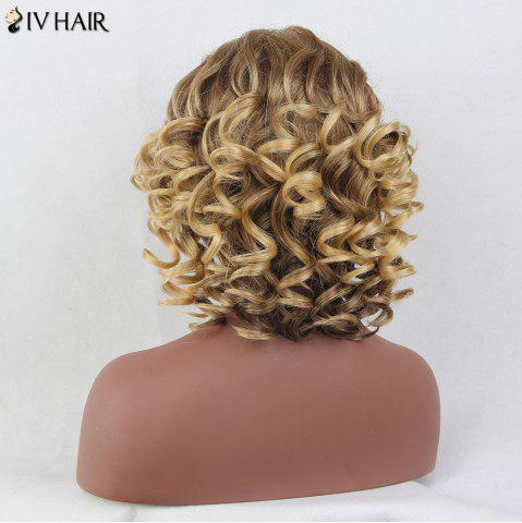 Buy Siv Hair Colormix Side Bang Layered Shaggy Short Curly Human Hair Wig - COLORMIX  Mobile