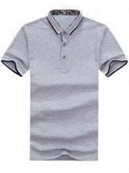 Contrast Trim Short Sleeve Golf Shirt