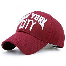 Showy Letters Embroidered Baseball Cap