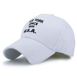 American Element Letters Number Embroidery Baseball Cap