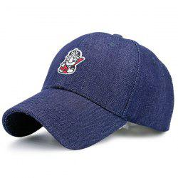 Cartoon Figure Embroidery Baseball Cap