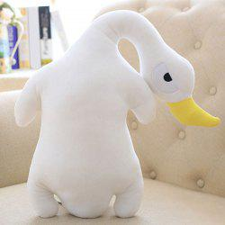 Creative Decorated Stuffed Toy Goose Velboa Throw Pillow