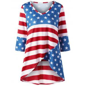 American Flag Tunic - Colormix - 2xl