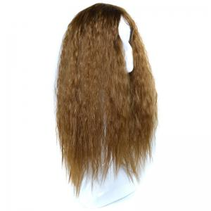 Lolita Shaggy Middle Part Long Curly Corn Hot Synthetic Wig -