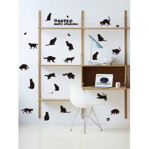 Cat Animal Removable Home Decor Wall Sticker