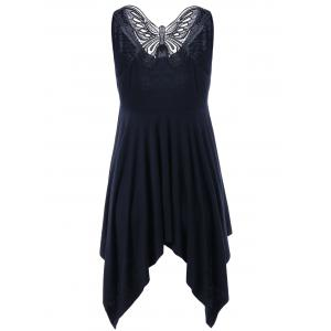 Butterfly Asymmetrical Dress