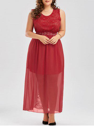 Best Plus Size Chiffon Long Evening Formal Maxi Dress