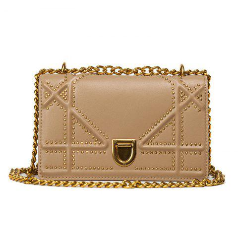 Outfits Rivet Chain Cross Body Bag