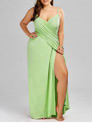 Plus Size Flowy Cover Up Wrap Dress