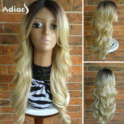 Adiors Long Center Part Wavy Colormix Synthetic Wig