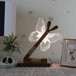 3D Stereoscopic Butterfly Home Decoration LED Desk Lamp
