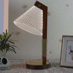 Home Decor LED 3D Stereoscopic Acrylic Desk Lamp