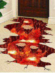 Volcano Vinyl Floor 3D Wall Sticker