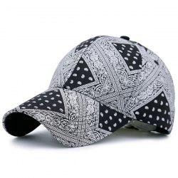 Anthemia Geometric Printing Baseball Hat