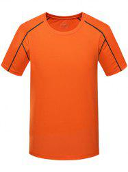 Breathable Short Sleeves Sport Quick Dry T-shirt